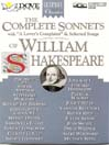 The Complete Sonnets of William Shakespeare (MP3)